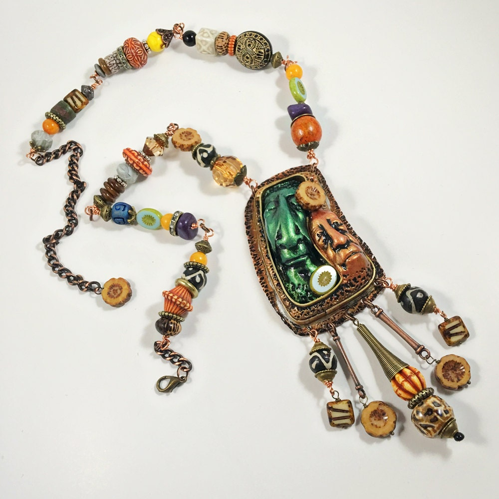 The elders necklace clay copper solder jewelry for How to solder copper jewelry