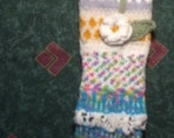 Flower Socks (Anelmaiset pattern)