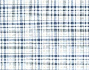 Michael Miller Fabrics - Mad About Plaid Denim - CX5436-DENI-D