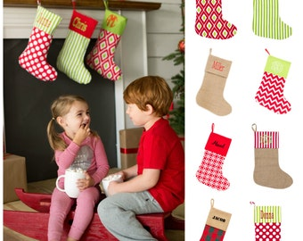 """Shop """"monogrammed christmas stockings"""" in Bags & Purses"""