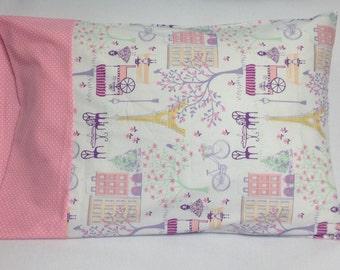 Paris/ Eiffel Tower Standard Pillowcase