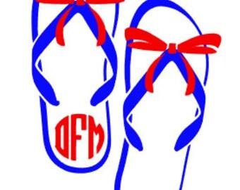 Flip Flop Decal 1
