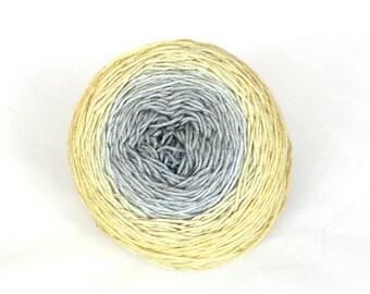150g!!! Hand dyed gradient - on a silky merino base (Slika) - Lőrinc