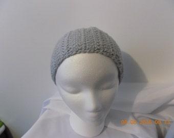 84---Grey Headband / Earwarmer
