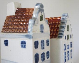 MINIATURES DUTCH HOUSES, Holland, Amsterdam, Collectible bottles, Alcohol bottles, Home decor, Souvenir, Gift