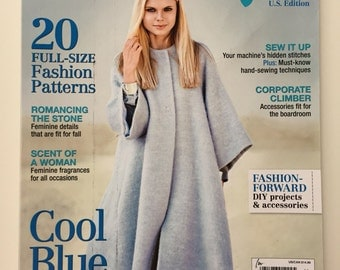 BurdaStyle Fall 2014 U.S. Edition with 20 Full-size Patterns