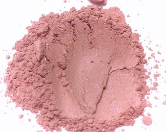 BABY KISSES Natural Mineral Blush - Neutral Pink Face Color - Gluten Free Vegan Face Makeup