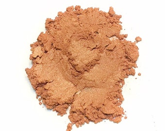 PUMPKIN SPICE Mineral Eye Shadow - Natural Makeup - Gluten Free Vegan Face Color