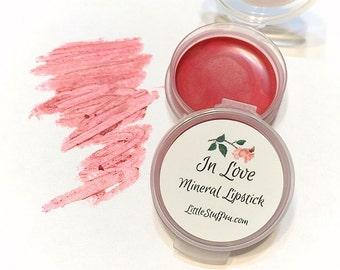 IN LOVE Natural VANILLA Mineral Lipstick - Vegan Gluten Free Lips