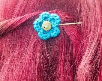 Amelia - Crochet hairpins