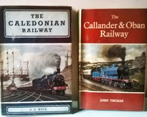 Two Vintage Hard Back Railway Books - 1st Editions 1960s