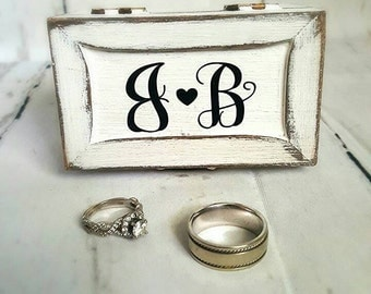 Wedding Ring Box / Ring Bearer/ Ring Box/ Flower Girl