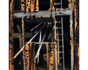 Ladder - Chemgraph No. 243 - Original Fine Art Photograph