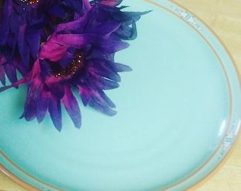 Noritake Stoneware Blue Aztec Replacement Salad Plate