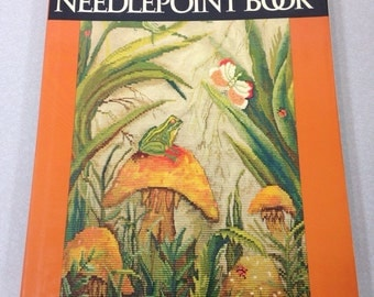 Sylvia Sidney Needlepoint Book 1968