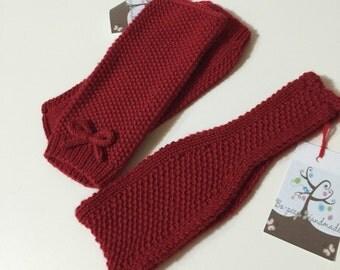 Ladies moss stitch headband