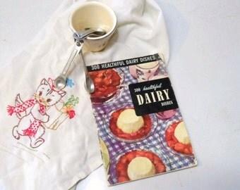 300 Healthful Dairy Dishes-The Dairy Book- 1952 Culinary Arts Institute Recipe Book- Vintage Cookbook-Cook Book-Ruth Berolzheimer-Recipes