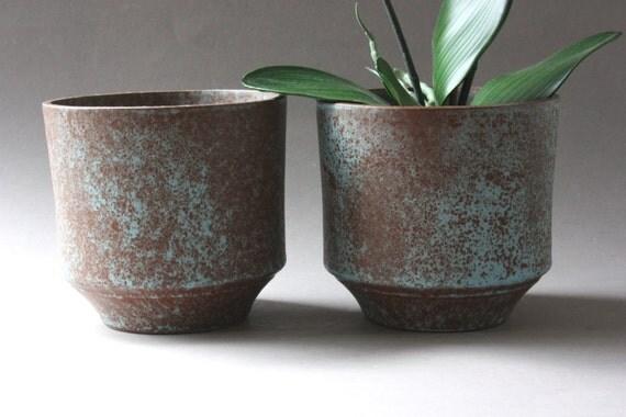 set kleine blument pfe vintage bert pfe keramik 60er 70er. Black Bedroom Furniture Sets. Home Design Ideas