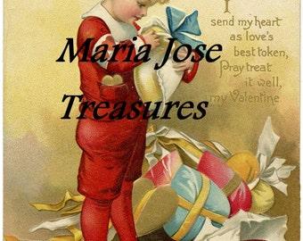 Vintage Valentine Images - Digital Download