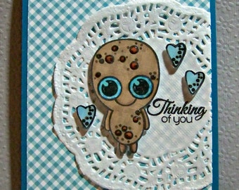 Thinking Of You ... Greeting Card...