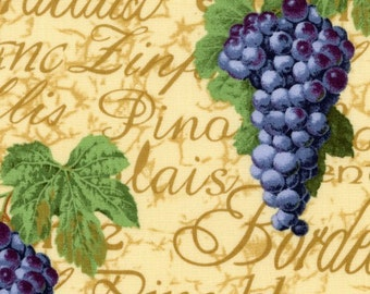 Wine by the Glass Fabric by Crafty Cotton, 100% Premium Cotton Fabric by the Yard