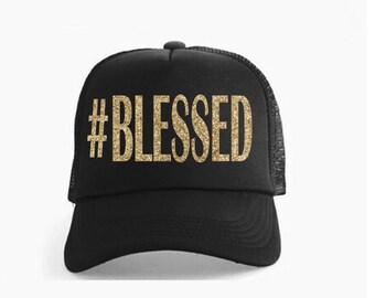 Blessed Mom Hat Etsy