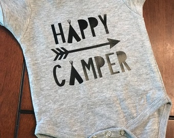 Happy Camper onsie