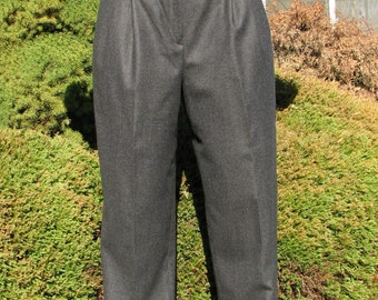 Vintage Gucci Pants - Gucci Woool pants / Slacks - Size 44 EUR