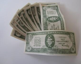 Moondog's Mad Money Jak Pak Currency Play Money