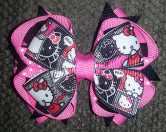 Kitty Stacked Boutique Bow