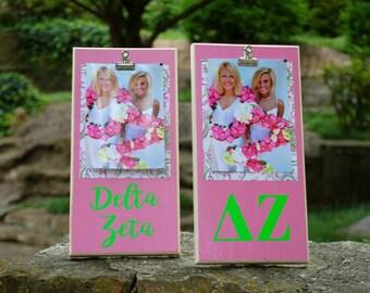Delta Zeta Clip Frame