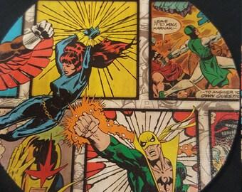 Marvel coasters