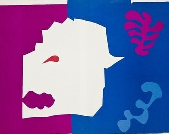 HENRI MATISSE - 'The wolf' - Jazz suite - limited edition vintage lithograph - c1985 (edition of 250)