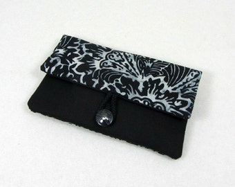 Batik i phone case, iphone case , i phone cover, black and white, cellphone case, padded sleeve, gift for her