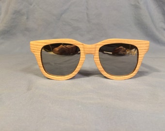 Men's Wooden Sunglasses // Oak Wood // 50mm