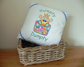 Humpty Dumpty Nursery Rhyme Cushion