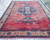 Vintage TURKİSH  Oushak    RUG 164x104