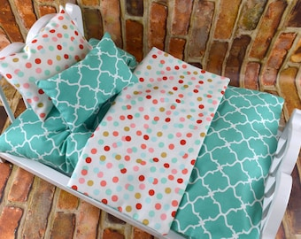 "18"" Doll Bedding w Mattress 
