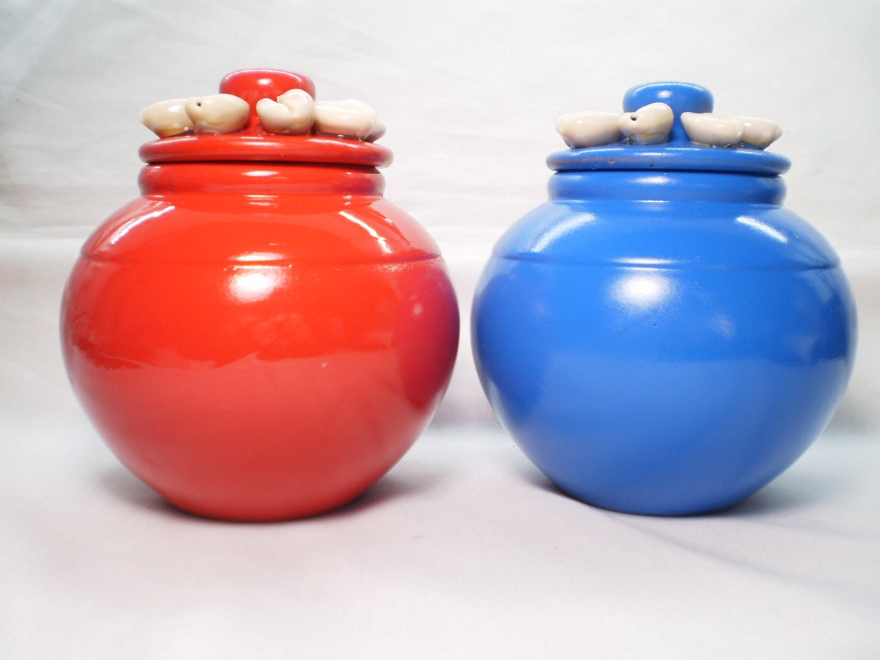 Jimaguas ibeyis small clay pot little pots for by oshadesigns for Small clay pots