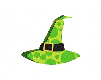 Witch Hat Dots Machine Embroidery Design
