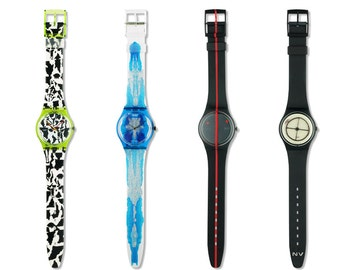 Swatch SWISS ART 4 pcs  (700th anniversary of the Swiss Confederation) - Numbered Edition - New Old Stock - with Original Box