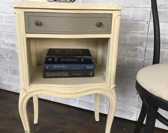 AVAILABLE: French Provincial Nightstand