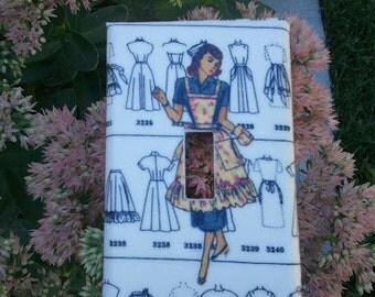 1950's Homemaker switchplate