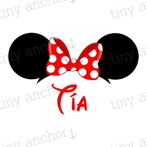 Minnie mouse ears printable