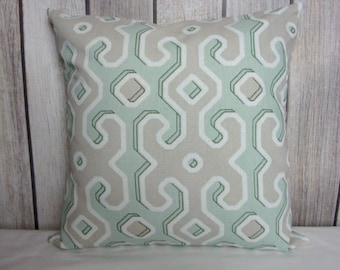 Throw Pillow. Pillow Cover. Green Pillow. Juniper Green Pillow. Sage Green Pillow. Taupe Pillow