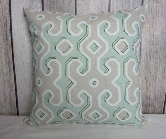 Throw Pillow. Pillow Cover. Green Pillow. Juniper Green Pillow. Sage Green Pillow. Taupe Pillow