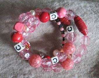 Cotton Candy Cuff Bracelet
