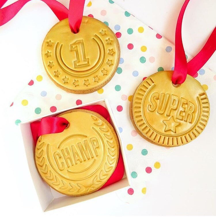 Medal Sugar Cookies From Lulisweetshopinc On Etsy Studio