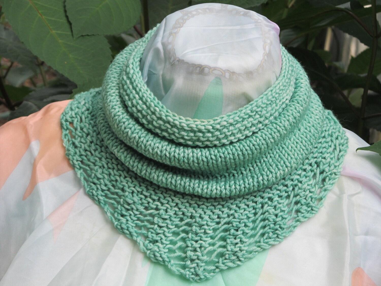 Bridger Cowl Scarf neckwarmercowlneck scarflace edged cowl