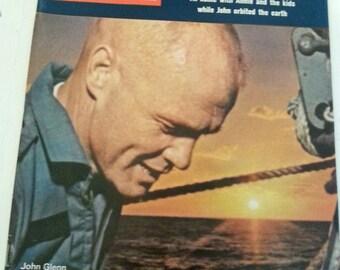 Vintage Life Magazine John Glenn 1962